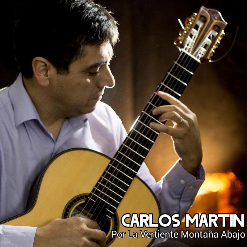 El debut discográfico del guitarrista floridano Carlos Martin